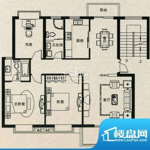 金丰花苑户型图五面积:0.00平米