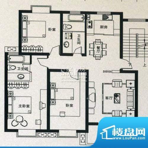 金丰花苑户型图六面积:0.00平米