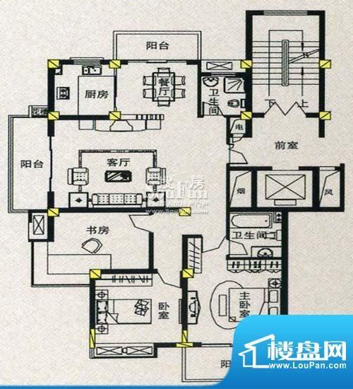 金丰花苑户型图七面积:0.00平米