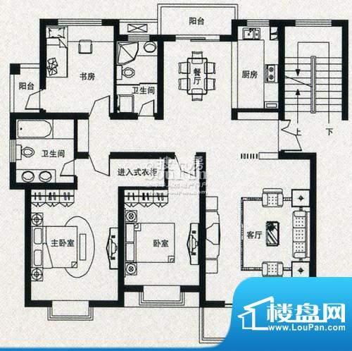 金丰花苑户型图八面积:0.00平米