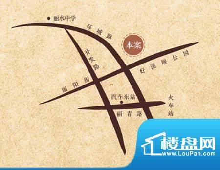 中驰·香蜜园交通图
