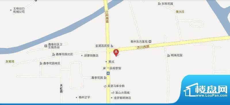 明珠新苑交通图