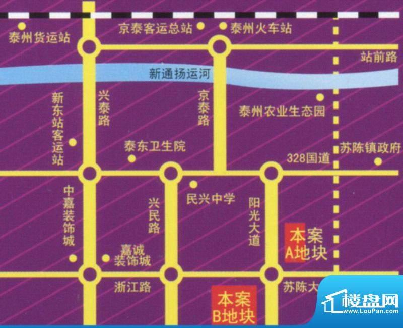 紫荆城交通图