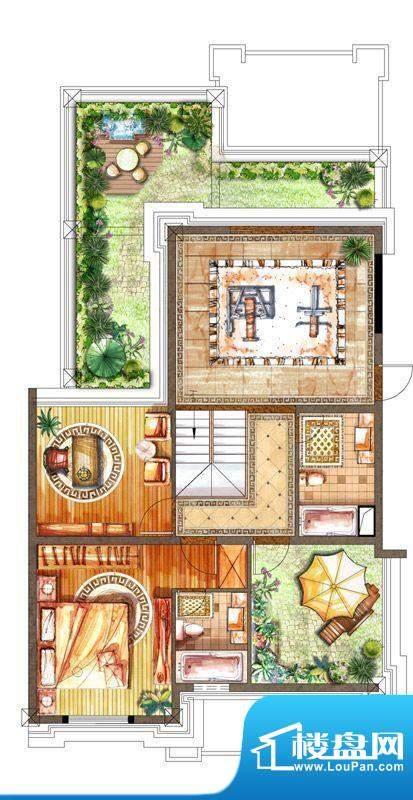 恒元城8#11#花园洋房面积:191.00m平米