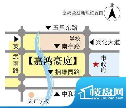 嘉鸿豪庭交通图