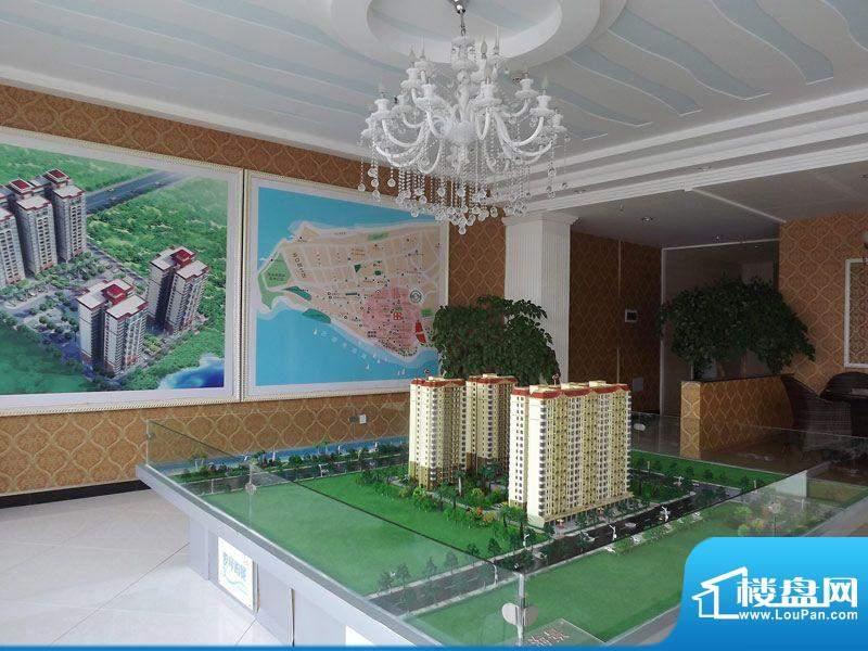 爱琴海景项目售楼中心沙盘实景(2011-1