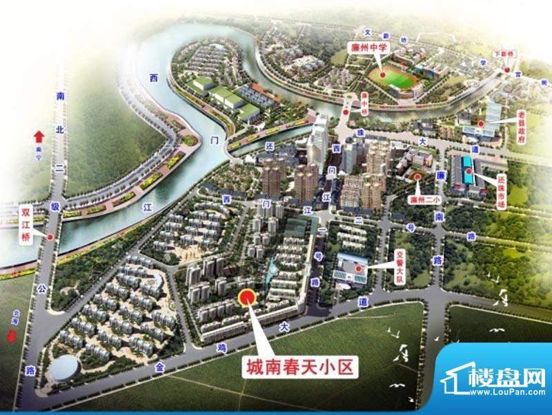 裕宏·城南春天交通图