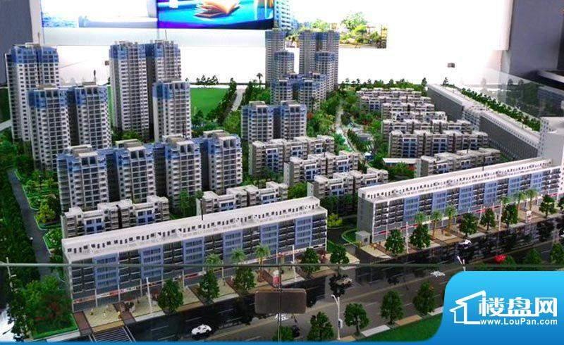 城南春天项目沙盘实景20111221