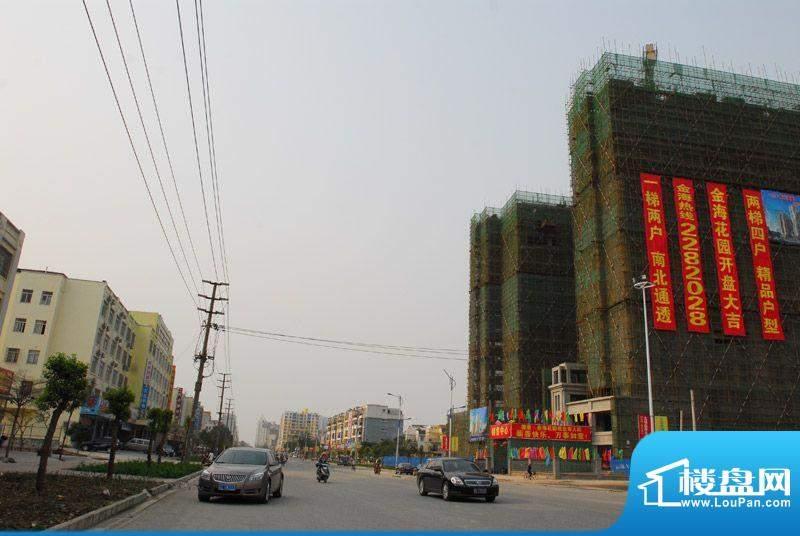 德臣·金海花园小区沿上海路实景201203