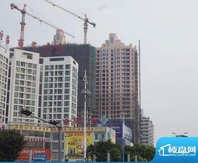 瀚海尊爵项目施工外部实景(2011-09-23