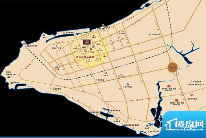 779财富中心交通图