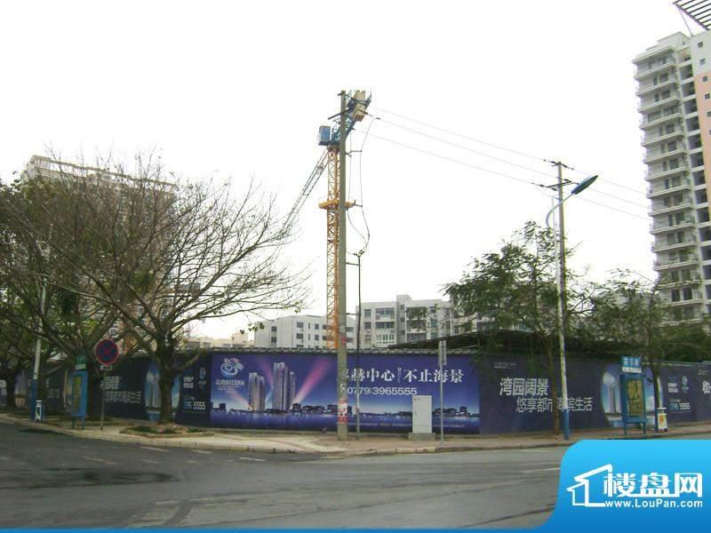 海辰国际小区外部实景20110102