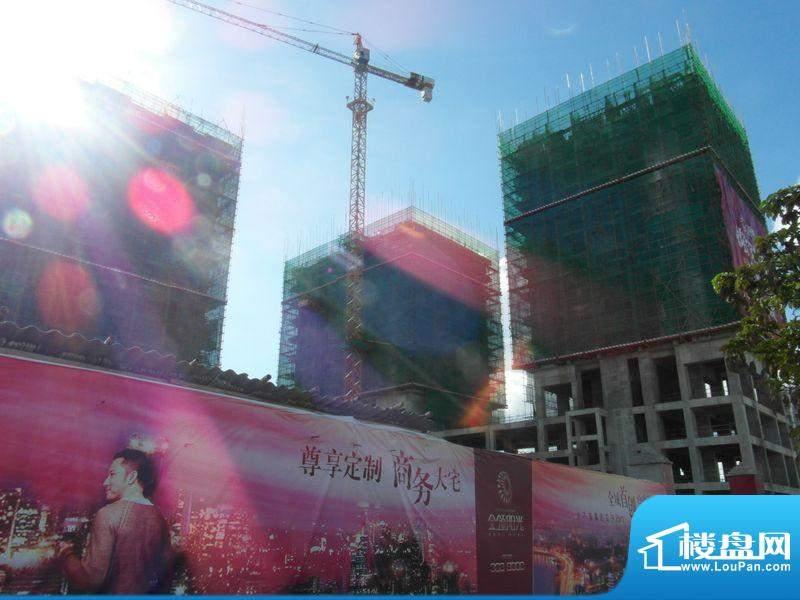 金领阳光项目工程整体外景图20120724