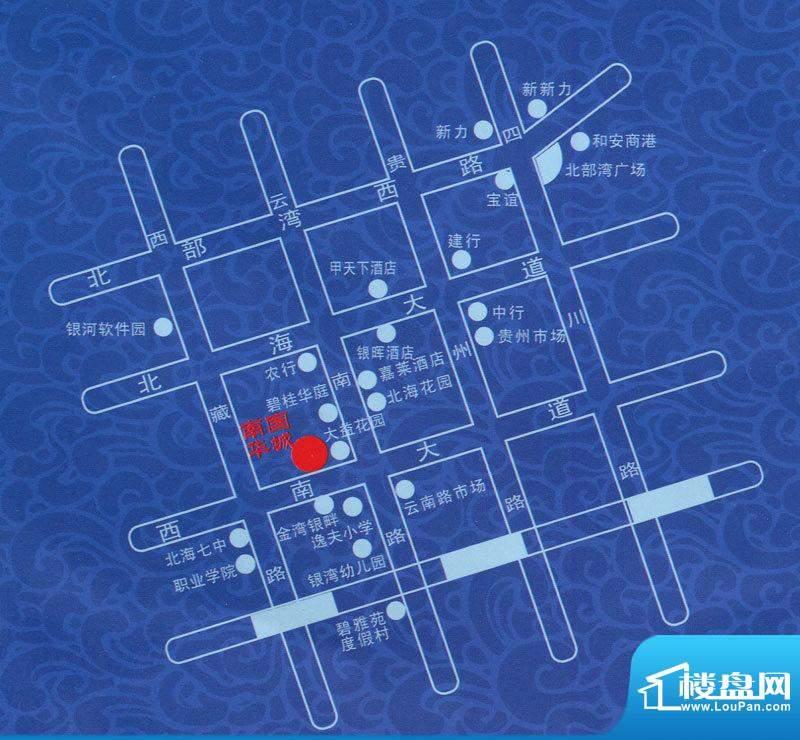 南国华城区位图