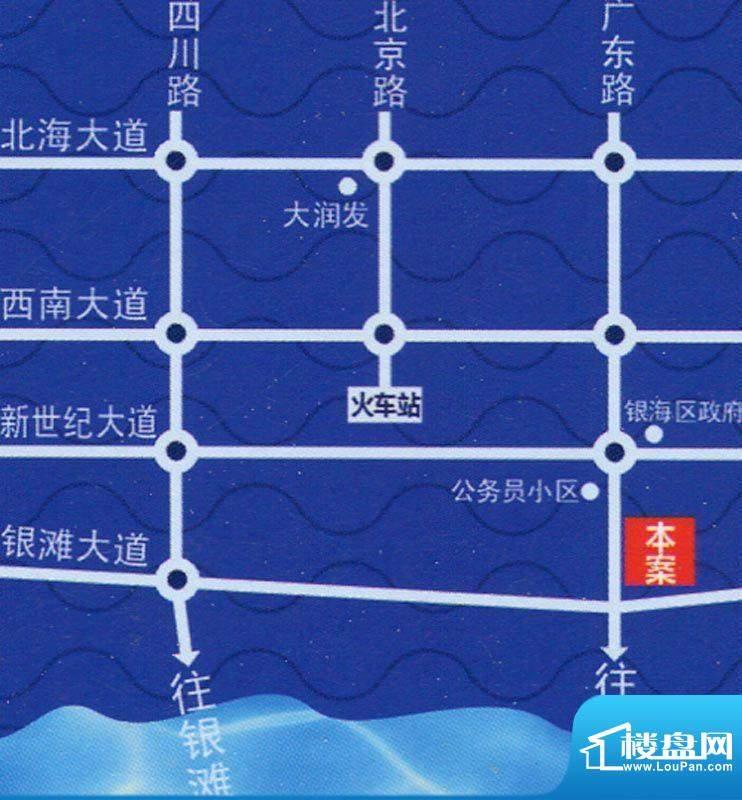 逢时·海景大厦交通图