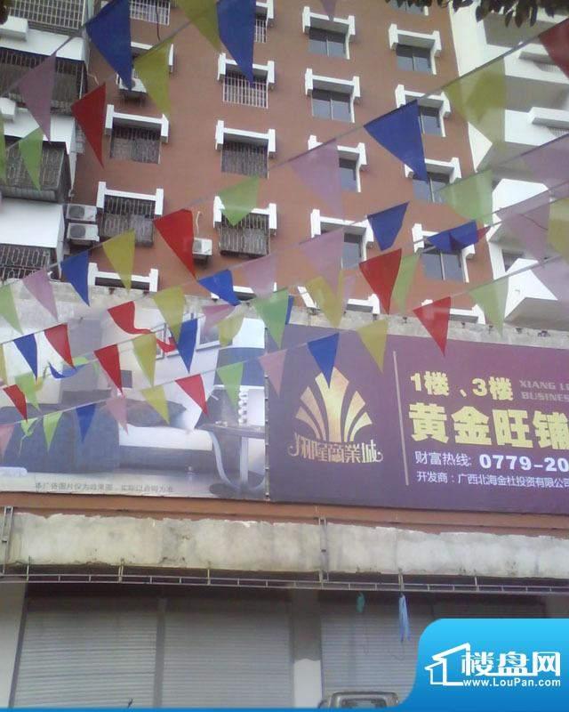 翔隆商业城小区楼盘实景20110128