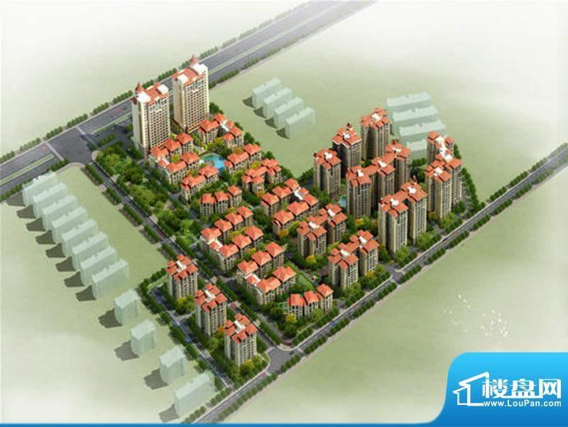 碧园·海语城小区整体鸟瞰效果图