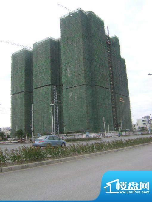 蓝海国际项目沿上海路外景图20111114