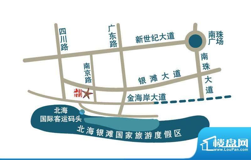 海韵佳园交通图