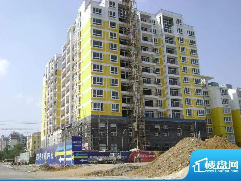 星海名城二期小区楼盘施工实景20110412