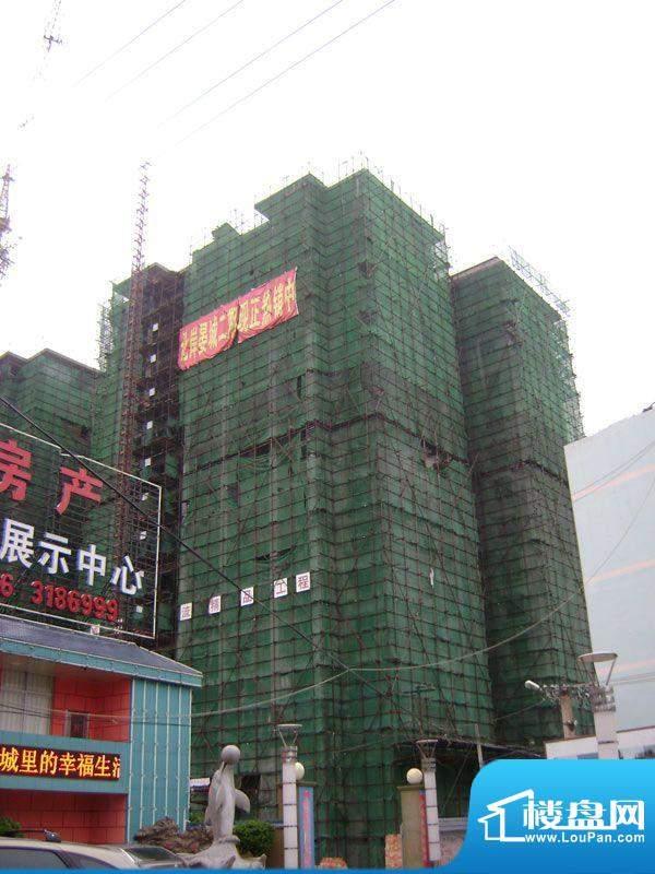 北岸晏城二期20110719施工进度:封顶