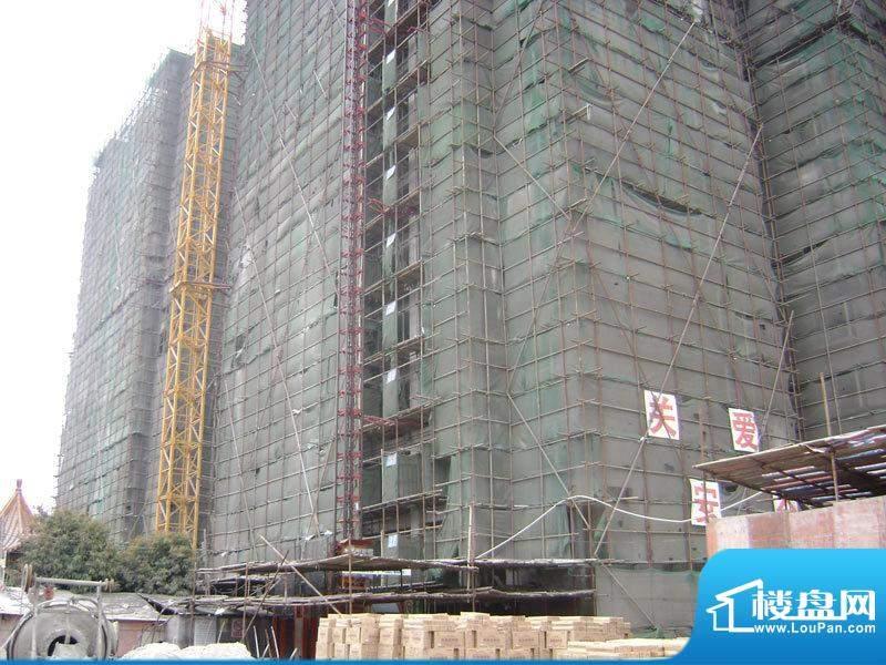 北岸晏城二期I#楼20110323施工进度:封