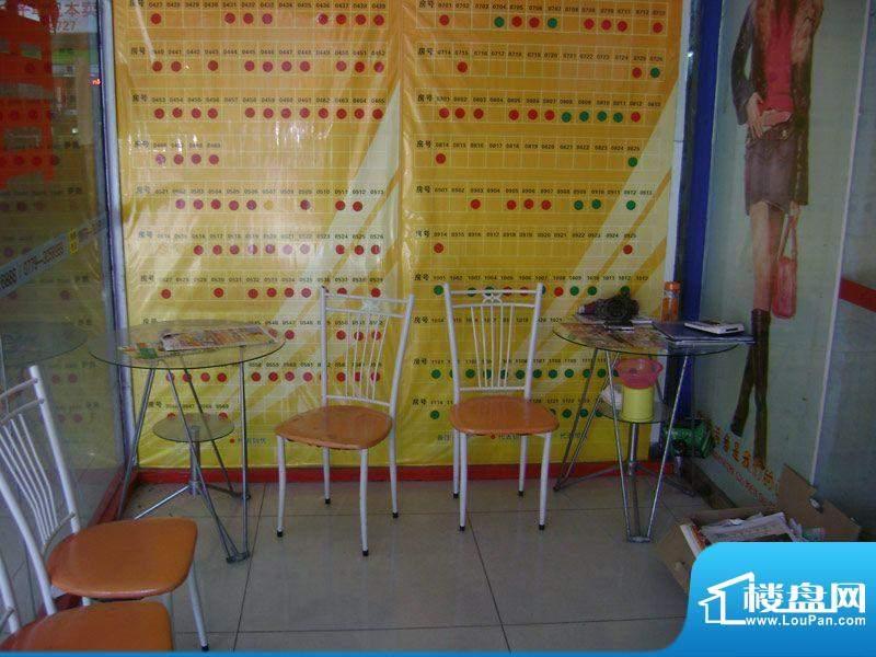 启东商务公寓售楼部内部实景图20110817