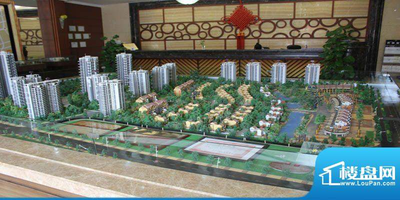 银滩万泉城沙盘实景图(2012-06-14)