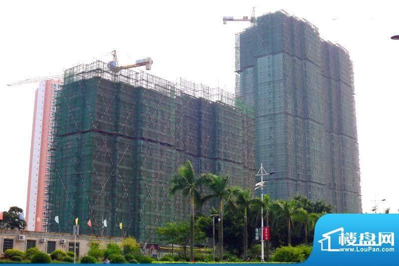 东峰广场项目施工全景20110923