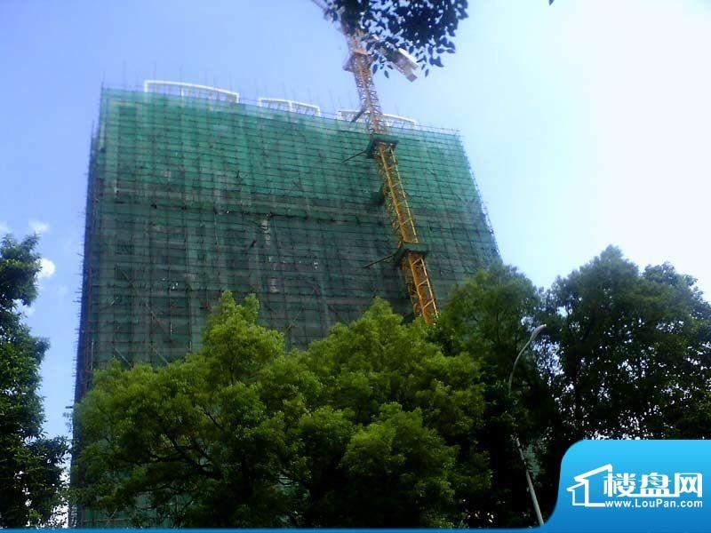 德丰大厦20110821项目施工进度:开始落