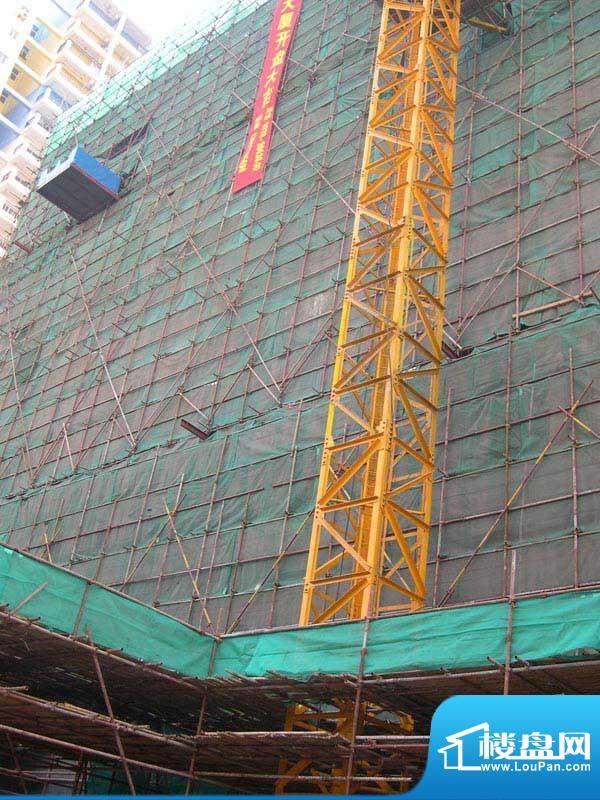 德丰大厦楼盘施工实景2011-1-1