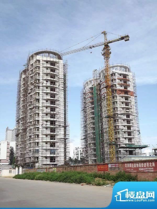 天富花苑项目施工全景20110718