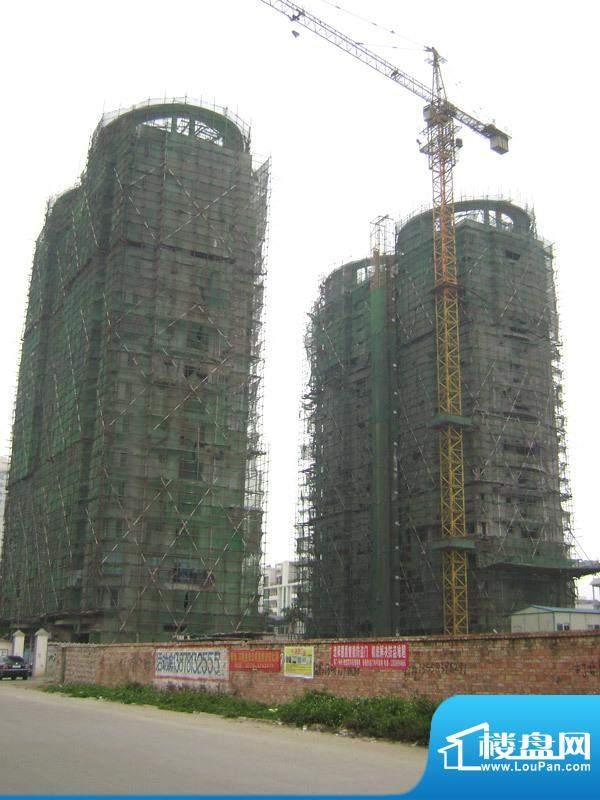 天富花苑小区整体施工实景20110505