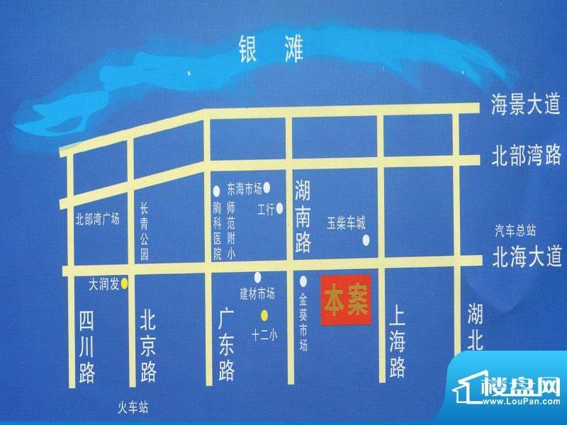 诚安公寓交通图
