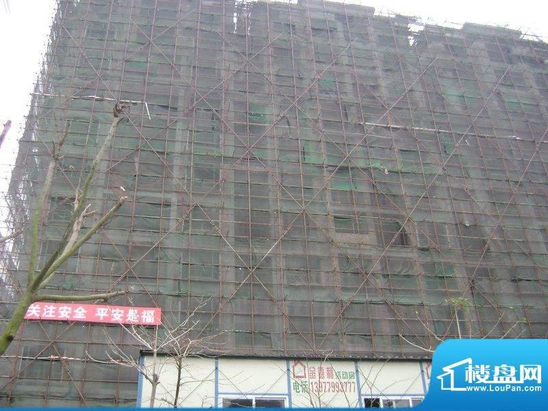 诚安公寓项目工程进度图(2011-03-03)