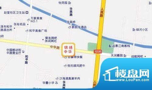 锦绣中华交通图