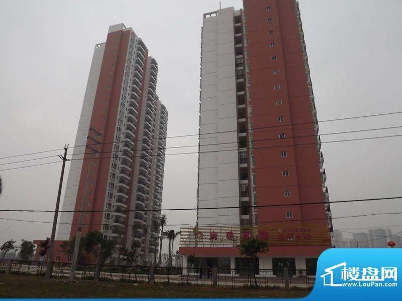 南珠家园项目沿南珠大道外景图20120201