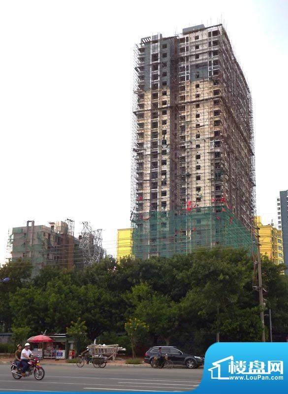 丽海明珠20111012项目施工进度:落架