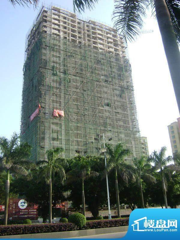 丽海明珠20110915项目施工进度:落架