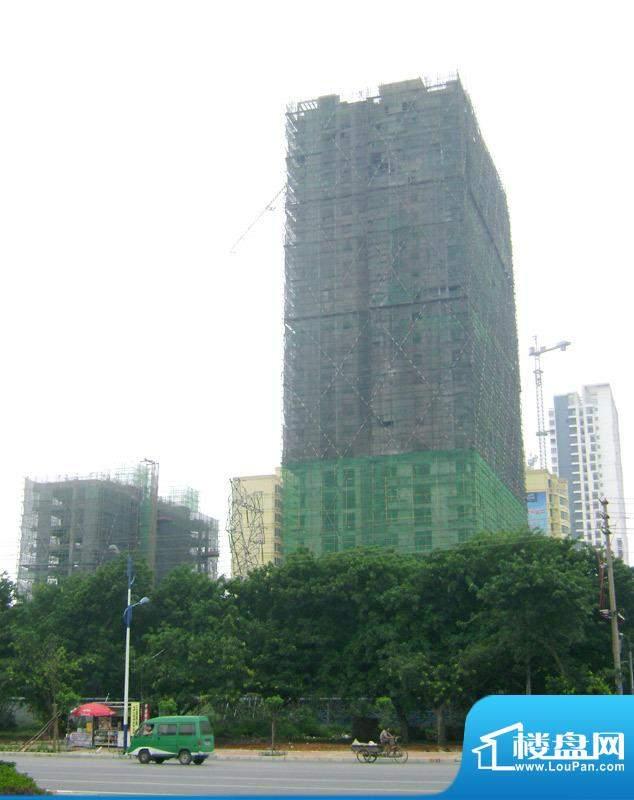 丽海明珠20110505施工进度:外墙装修