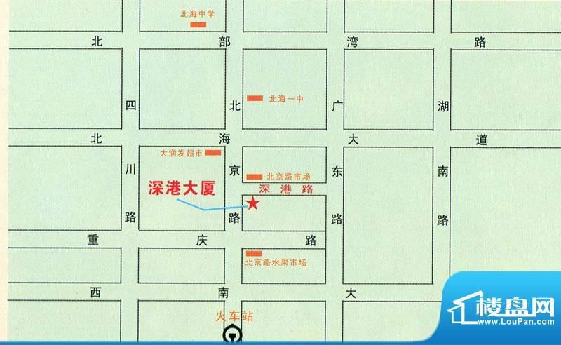 深港大厦交通图
