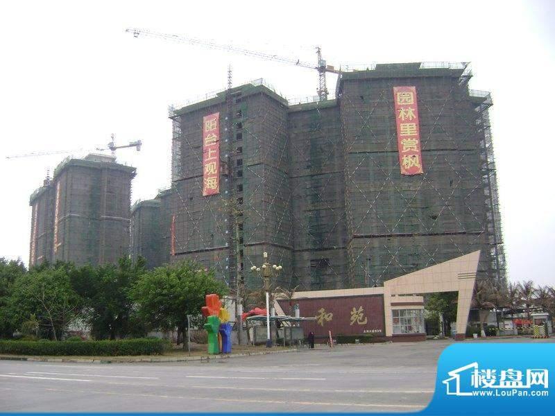 海枫和苑小区外景图(2011-02-19)