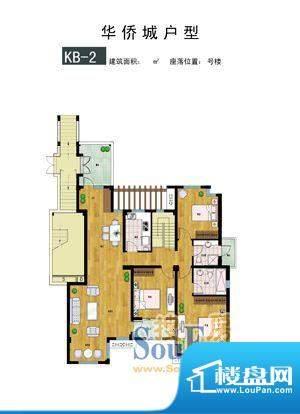 时代·华侨城户型1 面积:0.00m平米