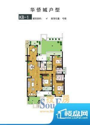 时代·华侨城户型2 面积:0.00m平米