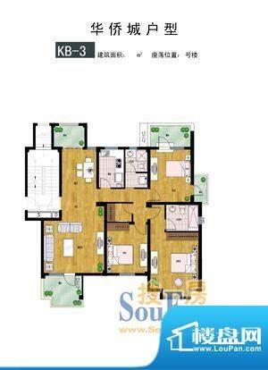 时代·华侨城户型3 面积:0.00m平米
