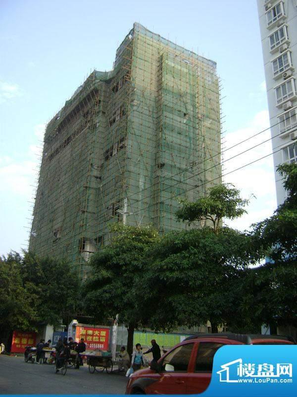 深港大厦小区门口实景20101223