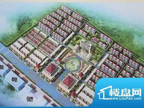 曹县矿业生态新城效果图