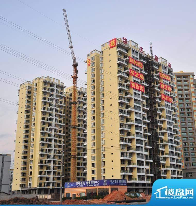 华天佳苑项目施工进度:装修完毕201112
