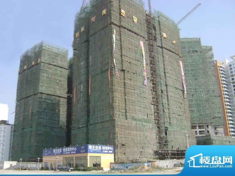 华天佳苑小区外景全景20110115