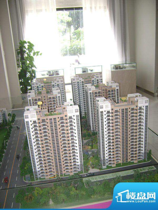 鑫丰丽景项目沙盘实景图20111214